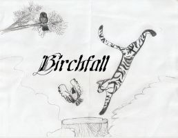 Birchfall by SpottedCrows