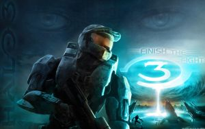 Halo 3 Wallpaper FAN ART by C0G-Graph1x