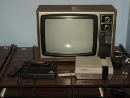 Sanyo Telecolor TV by ryanthescooterguy
