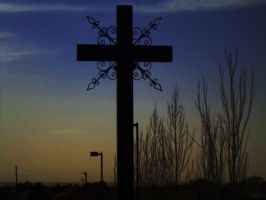 Cross by SharPhotography