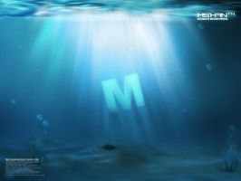 Underwater-M by malshan