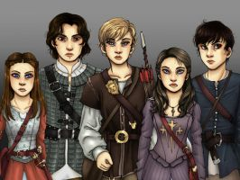 Narnia Crew for Lina by MichelleBurnette