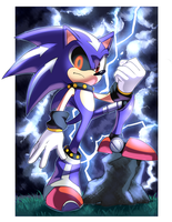 Metal Sonic by Drawloverlala