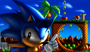 Sonic's Green Hill by Default-Deviant