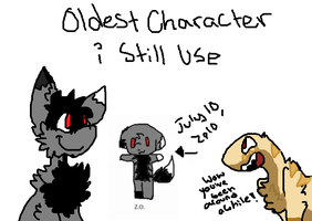 Oldest Character I Still Use by Silhouett3s