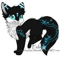 Feline Adoptable ~ by BiahAdopts