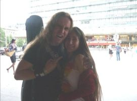 Jarkko Ahola and me by Twilightgothictribal