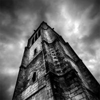 Apocalyptic tower by supmaite