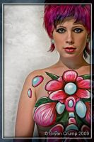 Floral Bodypaint by thebryancrump