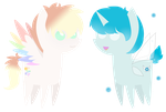 Mini Mirage and Fairy Dust by saurkin