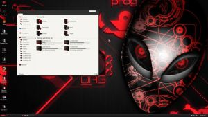 Alienware Red by Royalbisht