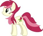 Roseluck's New Mane Style - Costume Vector by 8-Notes