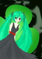 animated Evil Miku by all-the-lovely-death