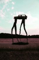 truck with legs by jeffreyverity