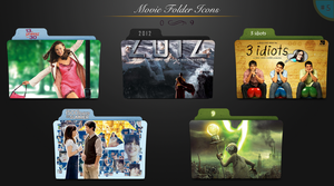 Movie folder icons NO.5 by dyinginthesun