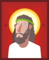vector_jesus by golfis