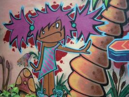 Graffiti 2 - closeup by mlleend