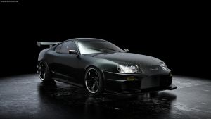 supra turbo Front by midoo55
