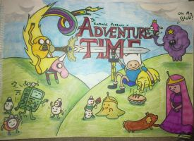 Adventure time poster by NerdSmile