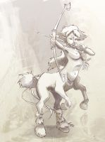 Centaur - 2Dartist FINAL by ruth2m