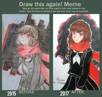 Draw this again! Meme [I FINALLY DID IT] by AyanoHiMe