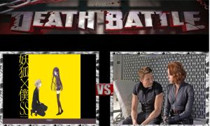 DEATH BATTLE Ideas Soshi and Riri vs Black and Haw by pp7jones