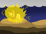 RQ .: Thunderblitz the Jolteon :. by TheShadowEevee255