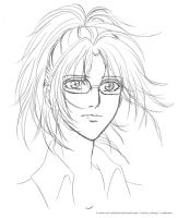 WIP - Hanji Zoe from SNK by Neldorwen