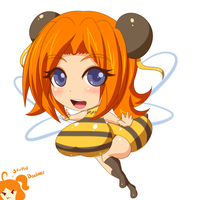 Tiny Bee by Jcdr