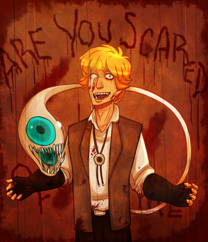 Are You Scared by Kimbolt-Prime