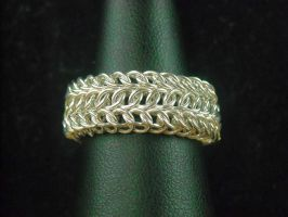 commissioned tripleback ring by Setarian