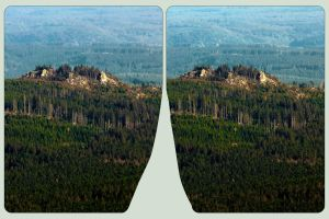 Nationalpark Harz 3D ::: HDR Cross-Eye Stereoscopy by zour