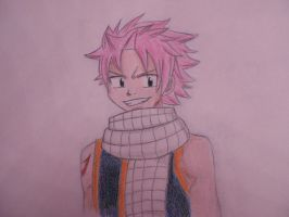 Natsu Dragneel (Fairy Tail) by Mosspetal