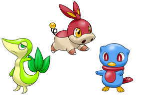 prediction of starters by Sakuyamon