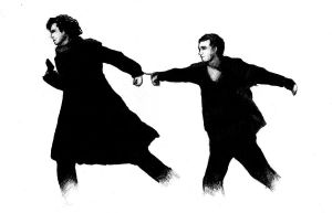 handcuffed: Sherlock BBC by The-Jack-of-all-Arts