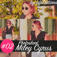 Photoshoot Miley Cyrus #O2 by IsfeEditions