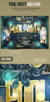 Pool Party Flyer Template by ImperialFlyers