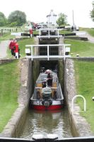 Going up the Locks by tammyins