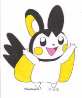 Emolga by MarioSimpson1