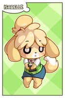 ACNL - Isabelle Card by MorningPanda
