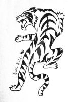 Tribal Tiger Commission by Peace-Wolf