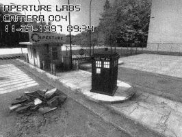 Aperture TARDIS by BadWolf42