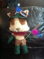 Hand-made Teemo Plushie by ShattenWolf