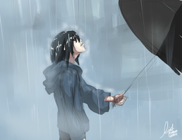 I Feel Like Raining. by eCedie
