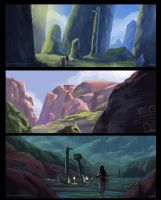 thumbnail landscapes #2 by sulliart