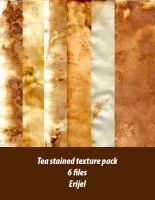 Tea stained texture pack by Erijel