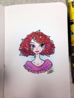 Bed Head of Roses by Junko-Ishi