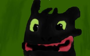 Toothless by Goldenfox1704
