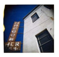 Oregon Sign polaroid by somavenus