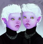 Twins by ellrano